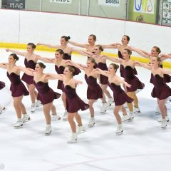 Get to know the McMaster figure skating team Following their first meet, we catch up with captain Emma Bonafiglia and OUA gold medalist Belvina Mao