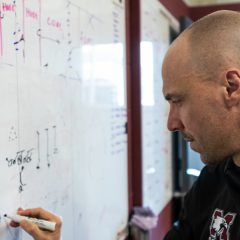 Vanier Cup winning coach Ptaszek returns to the maroon and grey After leaving the maroon and grey following three Vanier appearances, Ptaszek discusses his return to McMaster and building for the 2019 season