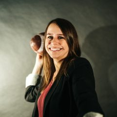 Vanessa Matyas' journey from McMaster to NFL Canada Bringing the NFL to Canada with Vanessa Matyas' and how hard work and perseverance led her there