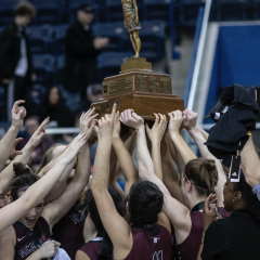 Mac women's basketball win their first national championship The McMaster women's basketball team defeated the number-one ranked Rouge et Or to win the U Sports Championship