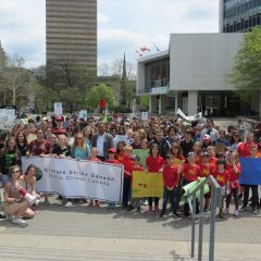 Striking for the Future Hamilton youth are joining a worldwide movement to demand that leaders address the climate crisis
