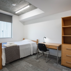 Enter McMaster's newest student hub While construction has yet to be completed, the multi-purpose Peter George Centre for Living and Learning will attempt to address student needs and improve the student experience