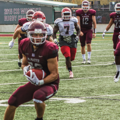 Men's football team off to a strong start The Marauders backed up their fifth overall ranking with a strong start to the season