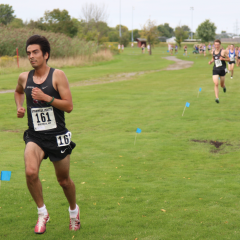 The men's Cross Country team hit the ground running As a team that is ranked third overall in the country, expect to see the cross country team live up to its national expectations