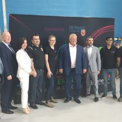 Premier makes quiet visit to McMaster Innovation Park Premier's visit was met with some pushback from the McMaster community