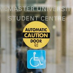 (In)accessibility in McMaster courses Claiming that the university is accessible and actually making it accessible are two different things