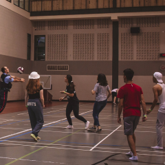 Intramurals are connecting off-campus students Through team sports, the society of off-campus students has helped to create a sense of community