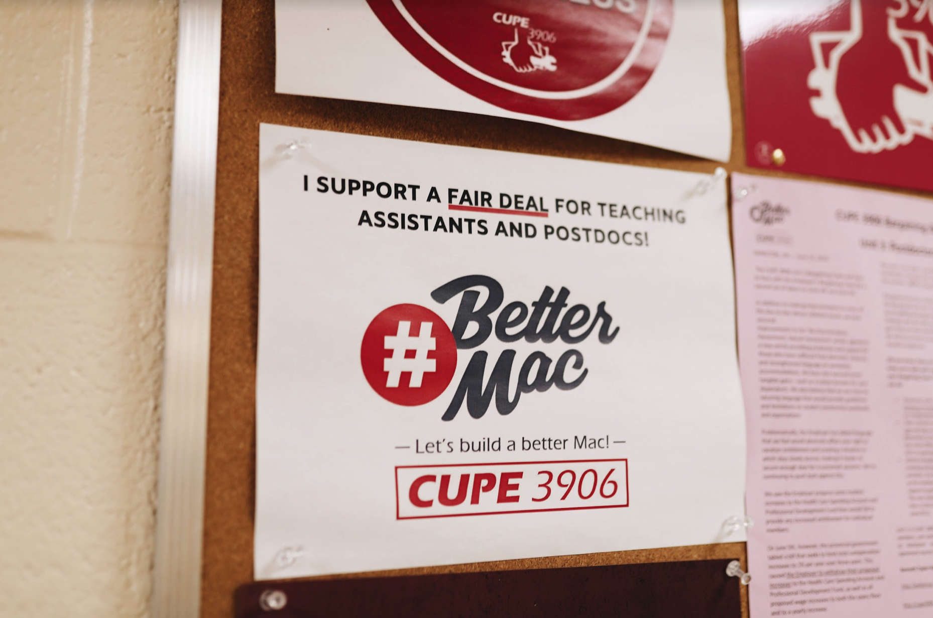 McMaster's teaching and research assistants vote to authorize strike action In a history-making vote, 87 per cent of CUPE 3906's Unit 1 vote yes for a strike mandate