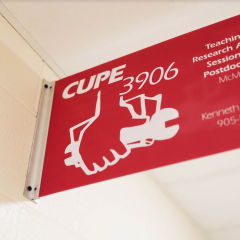 McMaster and CUPE have drafted an agreement A ratification vote will take place tomorrow