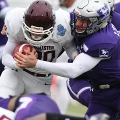 Lights out defence at TD stadium The Marauders handed the Mustangs their first loss this year, winning the 2019 Yates Cup