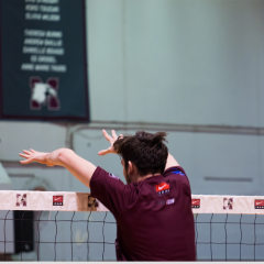 Men's volleyball is set for a big year With only one loss, the team has been on a hot streak