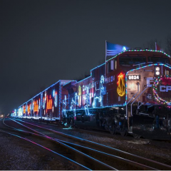 Food for thought Hamilton Food Share and the Canadian Pacific Holiday Train raise funds for food