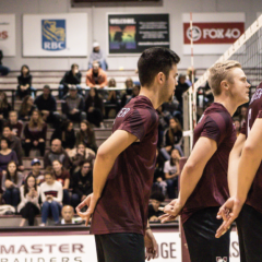 A volleyball story With several tournaments over the break, the McMaster Men's volleyball team had a few W's on their wishlist