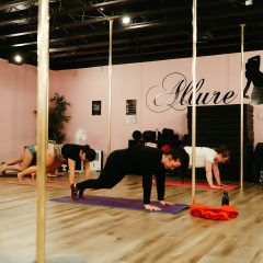 Sliding down and shaping up Allure Fitness gives locals a non-traditional workout