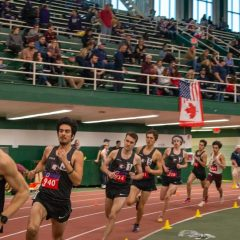 How Drover beets the competition Even though it's the indoor season, Alex Drover is running for the hills