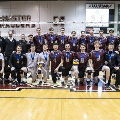 Bronze medal win leads to U Sports Volleyball berth A tough loss in the semi-finals wasn't enough to take down the Marauders