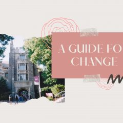 A student's guide to navigating change A growing list of tips on transitioning to e-learning, maintaining a social life and self-care