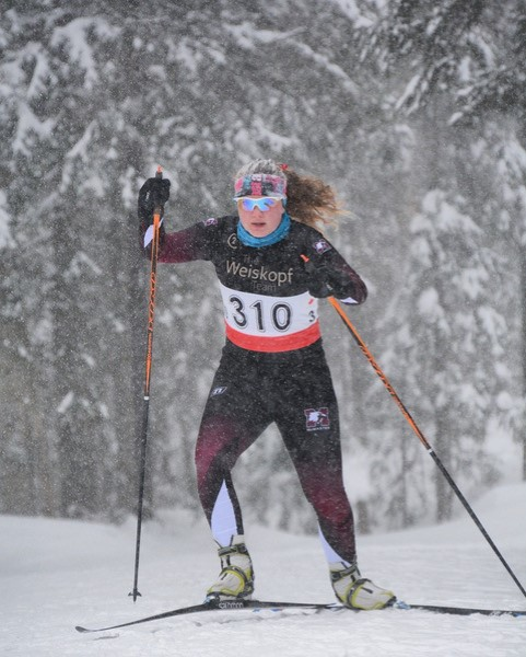 Nordic skiing. Photo C/O Mark Dewan.