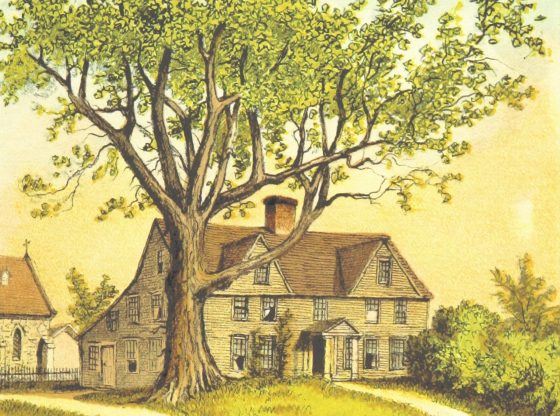 Painting of a cottage